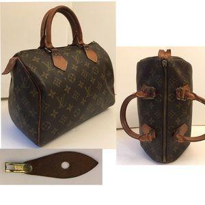 Louis Vuitton Monogram Vintage Speedy Bag
